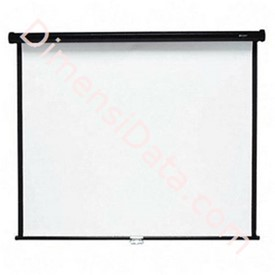 Jual Screen Projector Brite Manual 120  Inch [MAS-3030]